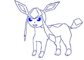 Mouse Sketch No.8:Another Glaceon Sketch by TheNotSaltyFizz