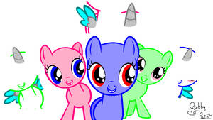 -AT- .:Look at the camera!:. Fillies BASE