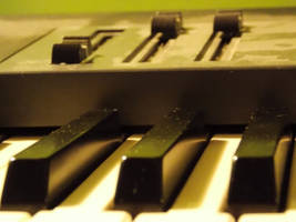 My  dusty piano by MrDoomy