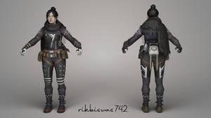 Wraith | Apex Legends | 3D Model | FBX