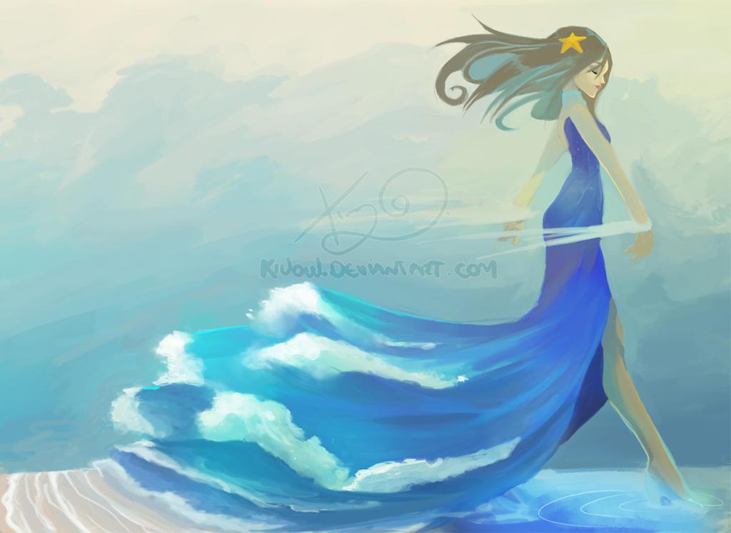 LadyOcean by Kiuow