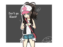 Don't go Black! - AgencyShipping - Black x White by PumpkinTrick
