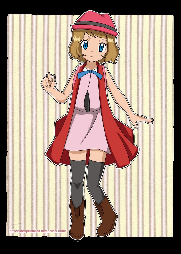 New Design - Serena - Pokemon X y Y by PumpkinTrick on DeviantArt