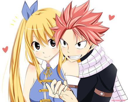 Fairy Tail - Natsu x Lucy (NaLu) by PumpkinTrick