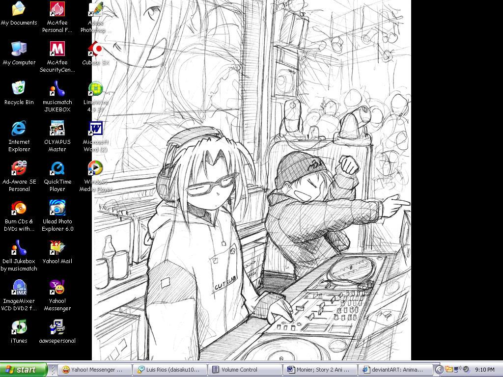 Desktop o' Mine by AnimaRaptor