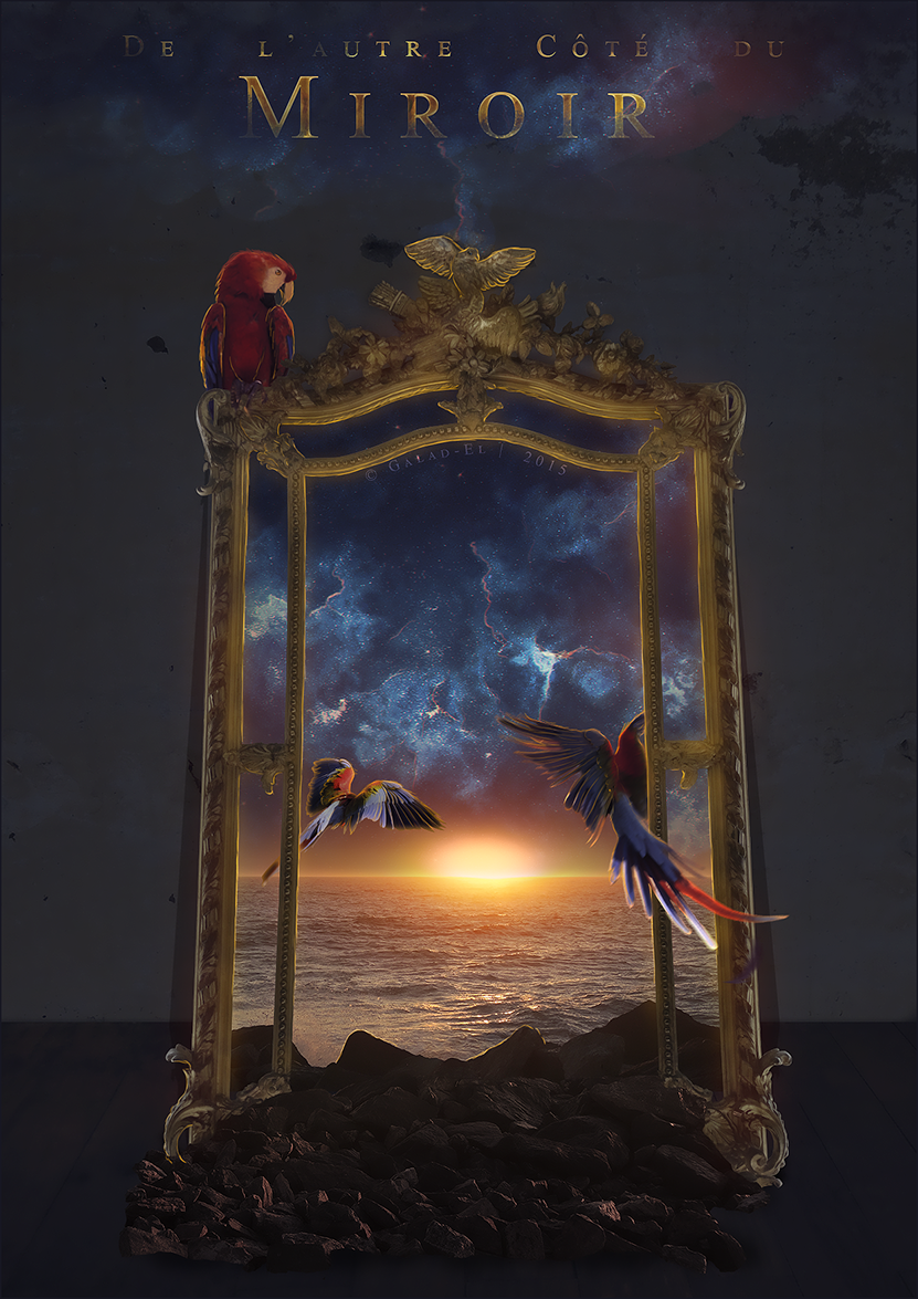 De l 39 autre cote du miroir by galad el on deviantart for L autre cote du miroir