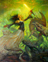 Lady of the lake by RMBDarkmyth