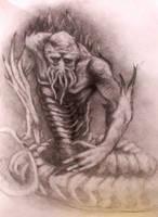 Snake demon by RMBDarkmyth