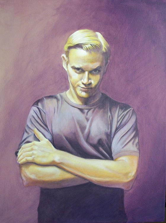 Self portrait by RMBDarkmyth