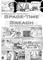 Space-Time Breach page 1 by petewarrior