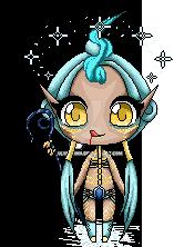 [ArtTrade] Pixeldoll - Eldarya character by JULYE-sama