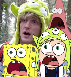 Meme paul in the forest - (Logan paul)