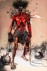 War nephilim/ sketch by Defectorillustration