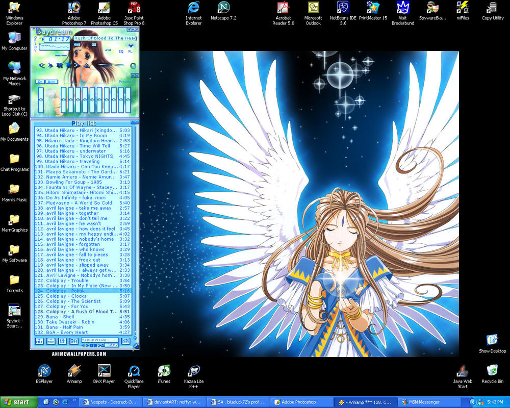Dream Desktop by blueluck72