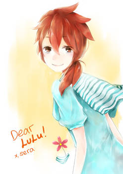 Happy birthday, Lulu!!
