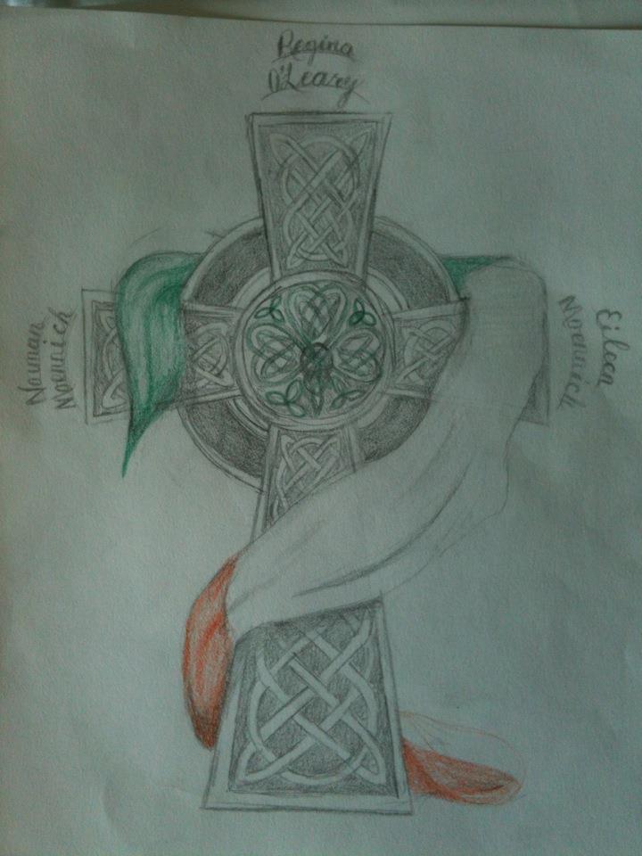 Irish Celtic Cross Tattoo Designs