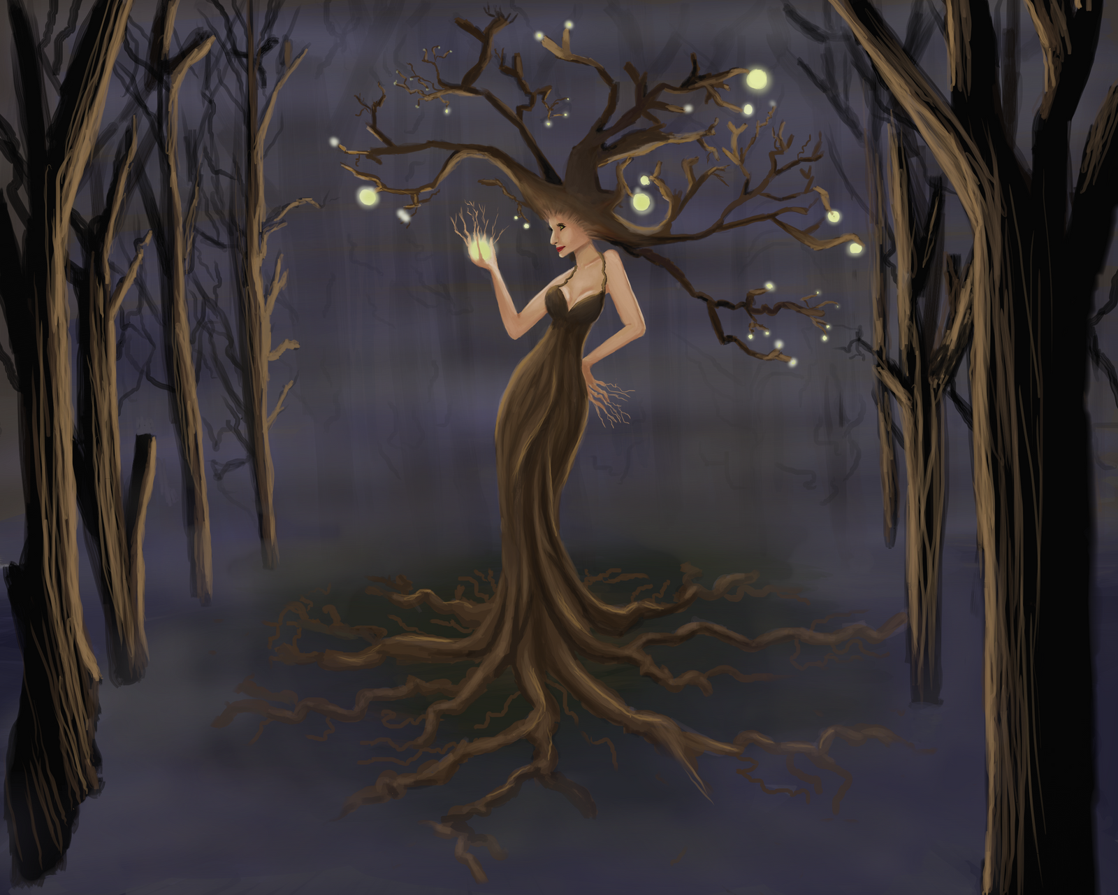 Tree Woman by MissBuffySpears