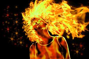 Fire Girl by Elle124