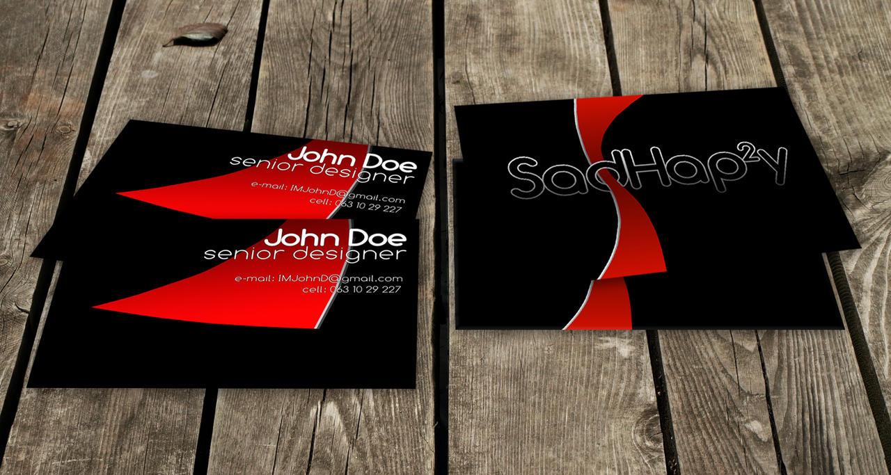 john doe designer card by imsadhappy on deviantart
