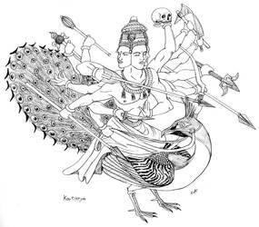 Kartikeya by PaleoAeolos