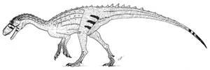 Herrerasaurus by PaleoAeolos