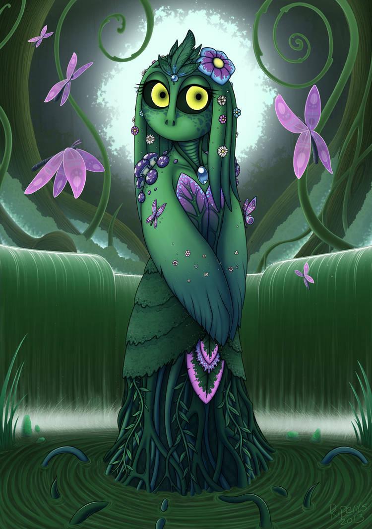 Swamp girl by R-i-Perils