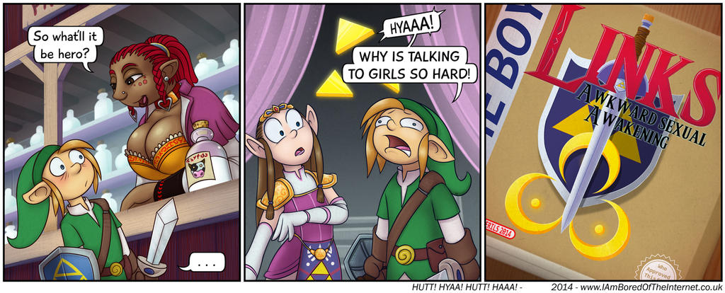 Links Awkward Awakening by R-i-Perils