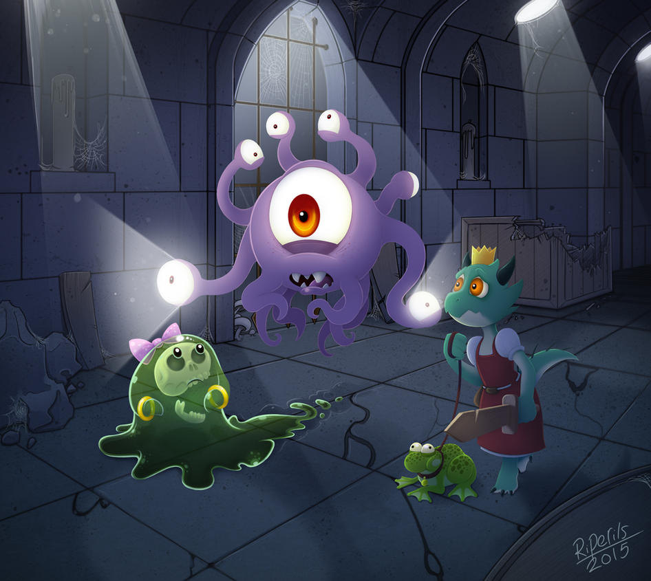 Dungeon Explorers by R-i-Perils