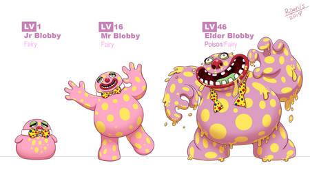 MrBlobby evolutions by R-i-Perils