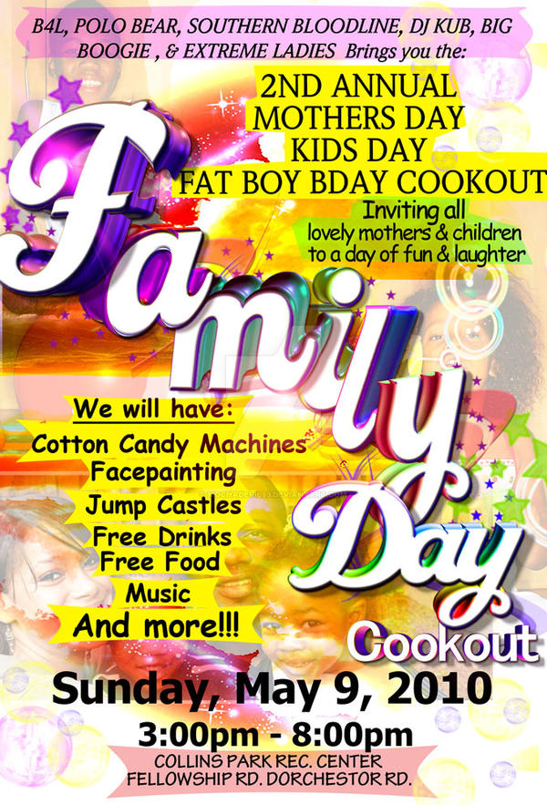 family day flyer by mochadevil83 on deviantart