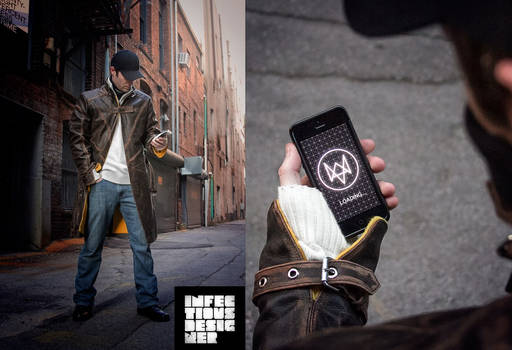 Watch Dogs - Aiden Pearce Cosplay