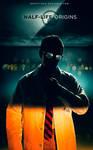 Half-Life Origins - Gordon Freeman Poster
