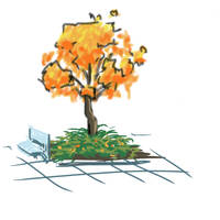 Sketch a tree (challenge) by radioactiveroach
