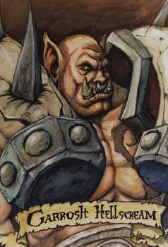 Garrosh Hellscream Portrait