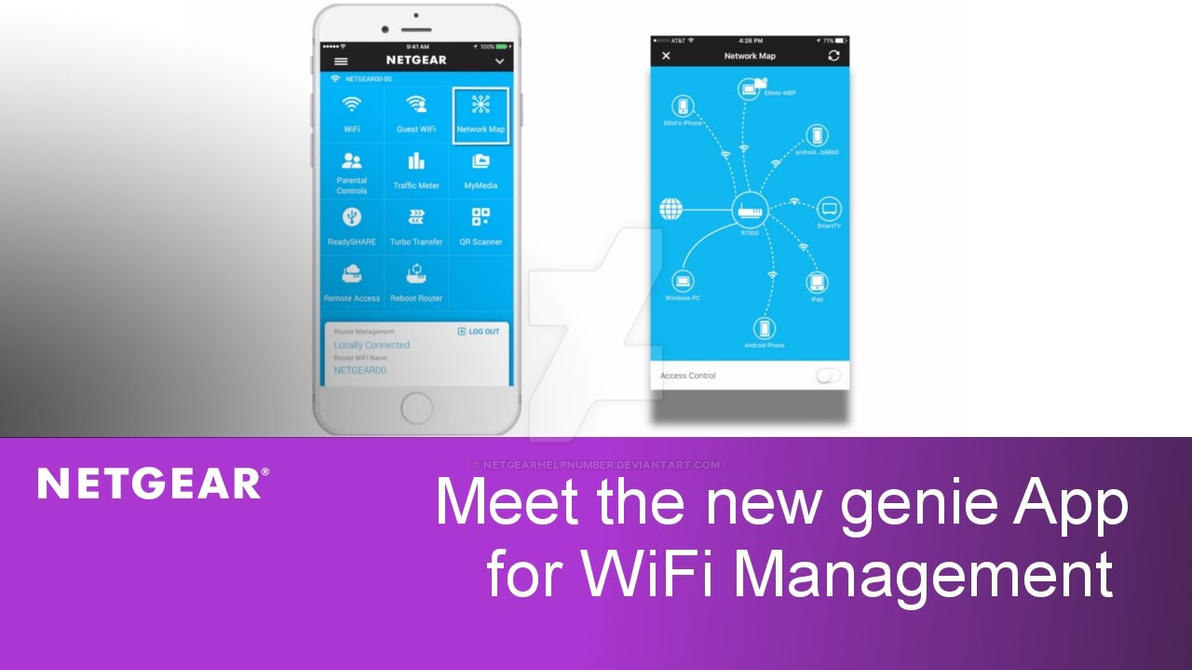 Login to Netgear Genie for updation of firmware by
