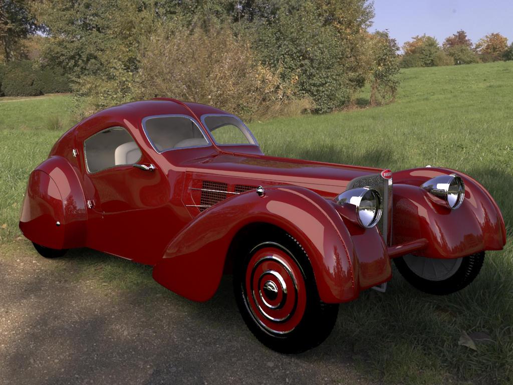 Bugatti Type 57SC - Atlantic (1936) by raulovsky on DeviantArt