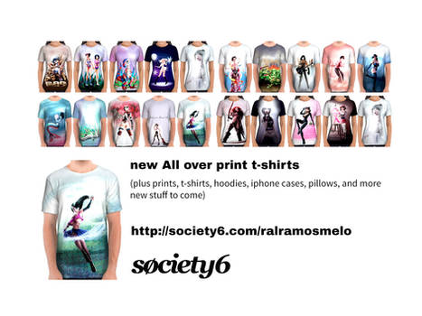 Society6 new products
