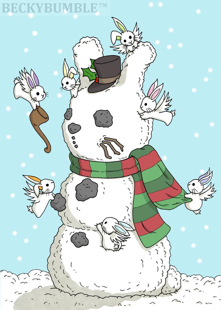Building a Snowbun by BeckyBumble