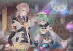 Genshinimpact: Albedo and Sucrose