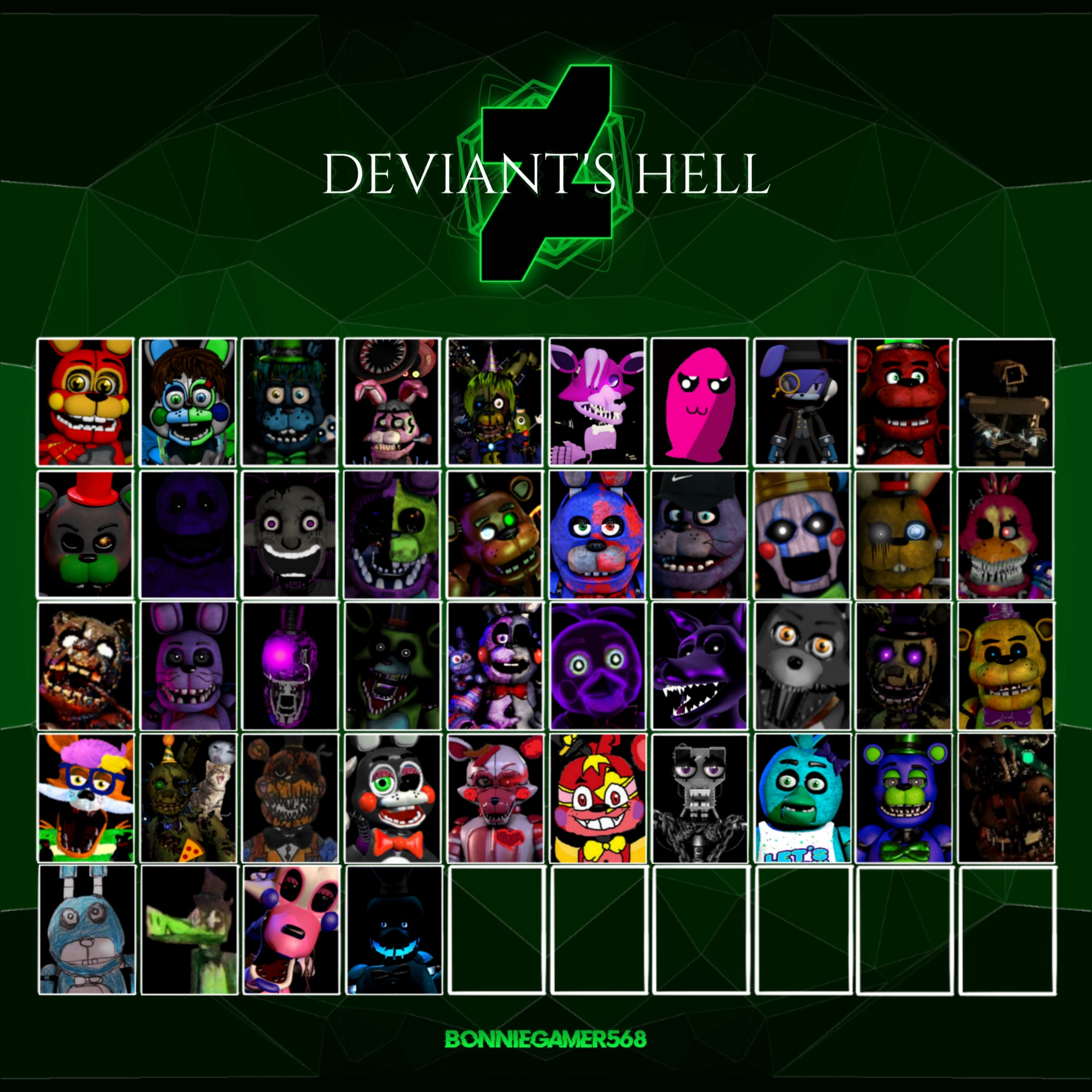 DEVIANT'S HELL (44/50) [6 Left!]