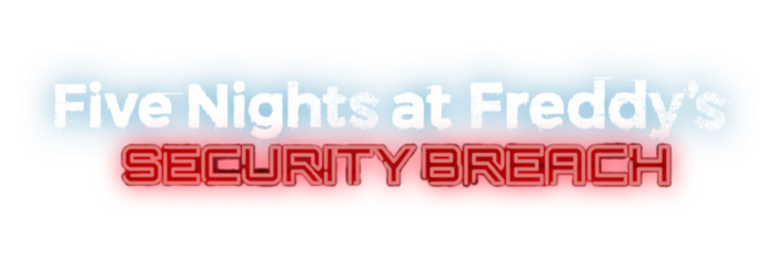 Five Nights At Freddy's Security Breach Logo PNG