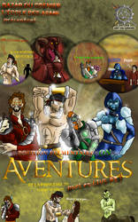 Affiche Live Aventures #8 : Epic Summer Nudism by S4turn-Art-on-Gaming