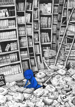 Blue Girl story