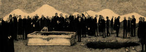 The funeral of old men by spowys
