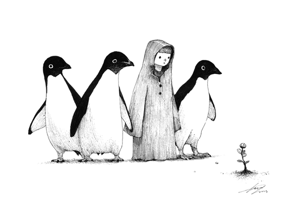 penguins by spowys