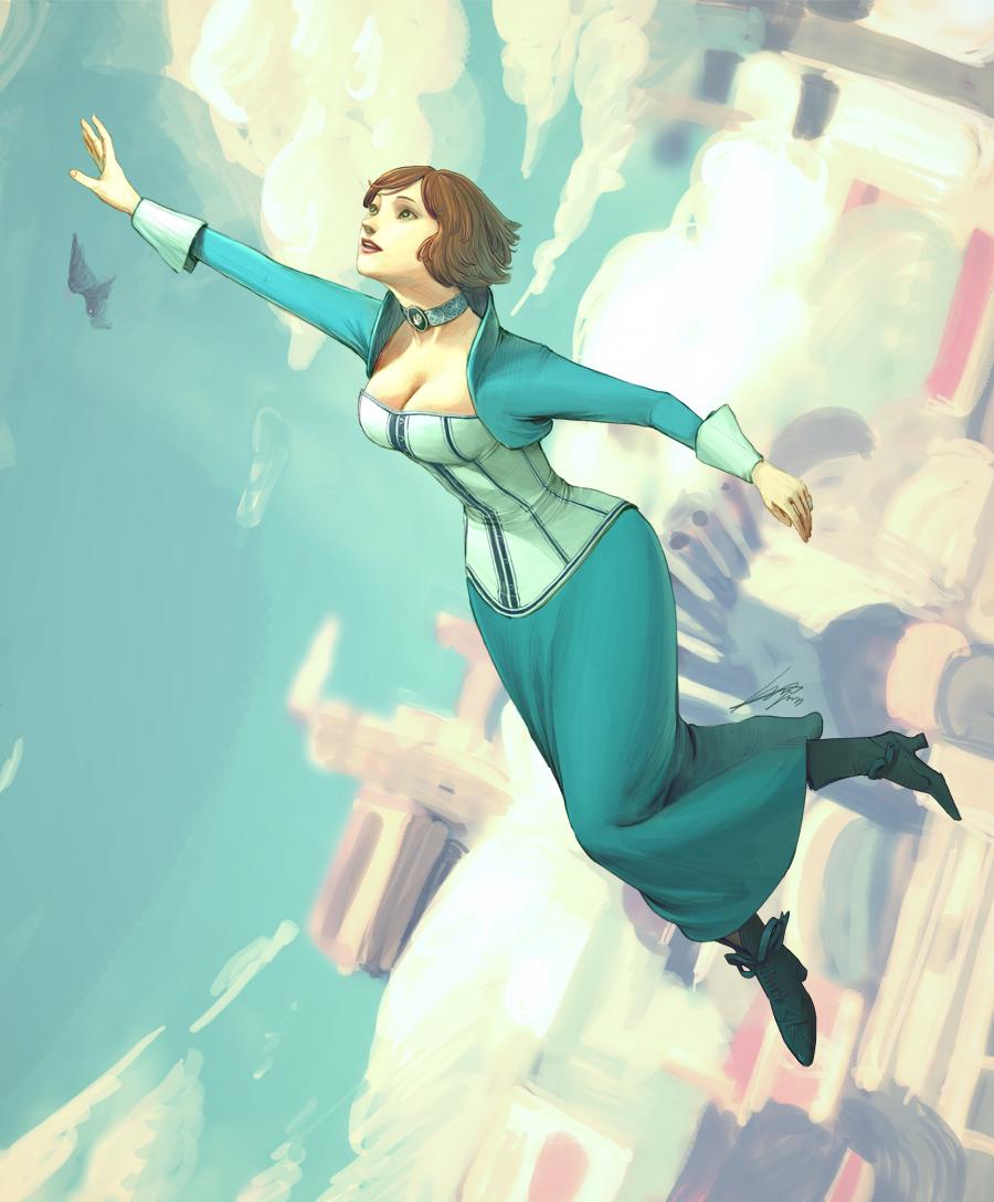 Bioshock infinite / Elizabeth by spowys