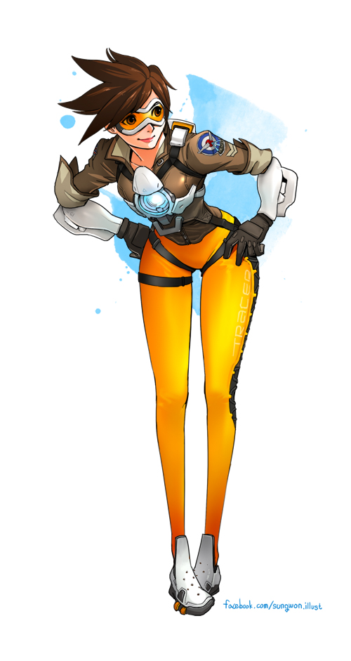 Overwatch Tracer by spowys