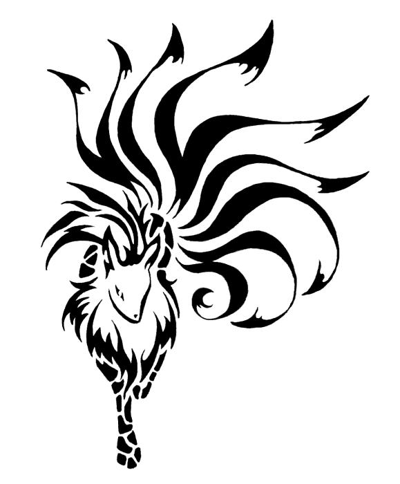 Ninetales Tribal By Little koko On DeviantArt