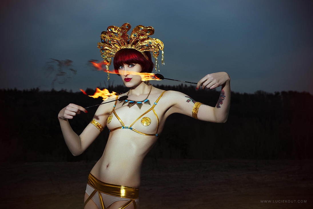 Egyptian Fire II by luciekout