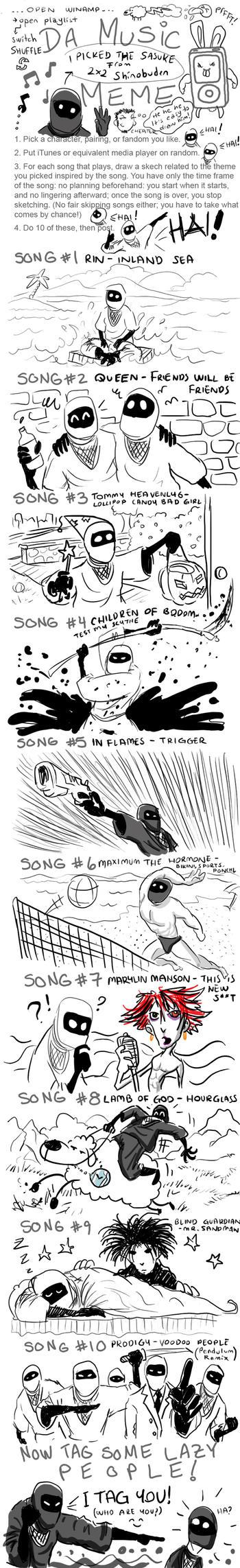 melihyilmaz's Music Meme by melihyilmaz
